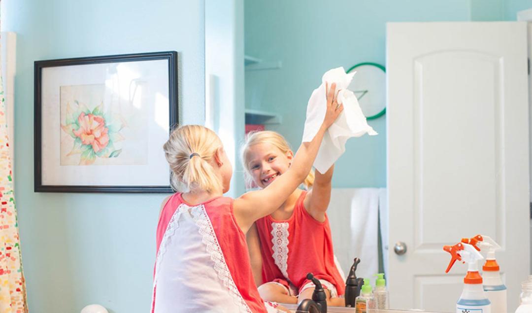 children-cleaning